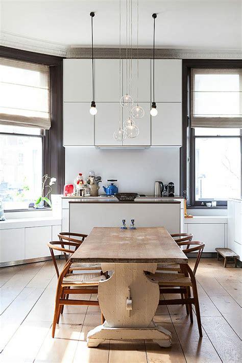 luminaires cuisines ambiance cosy par le luminaire led dans une cuisine moderne design feria