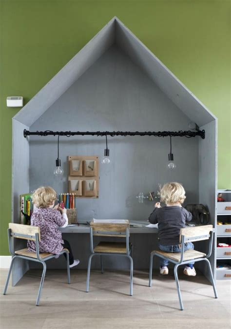 chambre d enfants bureau cabane chambre d 39 enfants pièces de