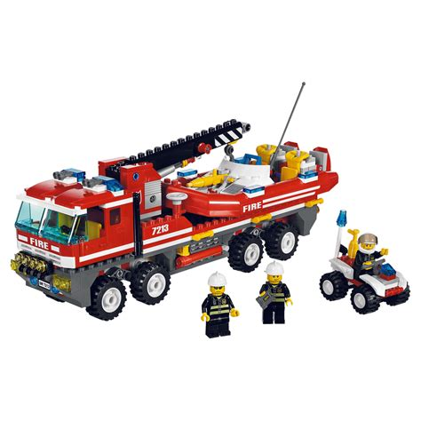 Lego Fire Truck And Boat by Lego Fire Fighters And Lego Fire Station Mocs