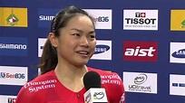 Wai Sze LEE Interview - Women's 500m Time Trial -- 2013 ...