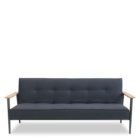 canapé couleur canapé 3 places design scandinave convertible osborn