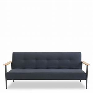 canape 3 places design scandinave convertible osborn With design canapé convertible