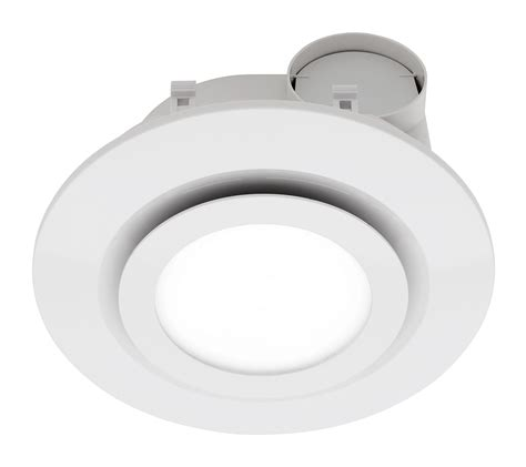 Heller 250mm Blade Extractor Bathroom Exhaust White Fan W