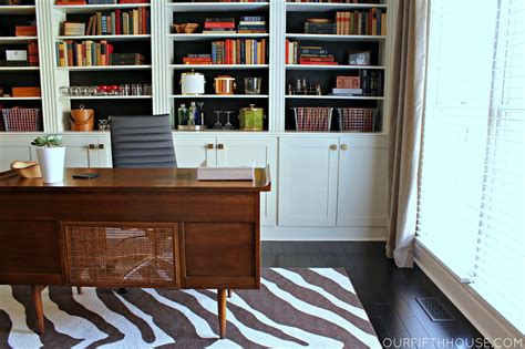 Bookcases For The Home by Home Office With New Built In Bookcases Our Fifth House