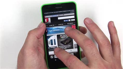vid 233 o test du lumia 635 4g et windows phone 8 1 pour