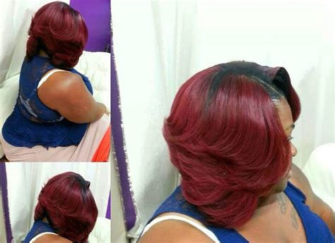 Cute Bob...love The Red Color!!