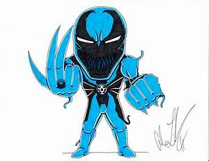 Blue Lantern Anti-Venom by toonartist on DeviantArt