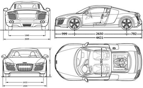 audi  coupe blueprints  outlines
