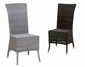 Chaise En Résine Tressée : chaise en r sine tress e am lie ~ Dallasstarsshop.com Idées de Décoration