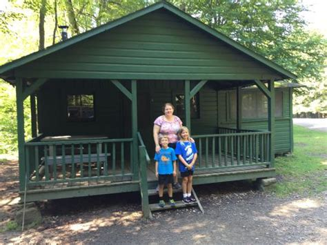 allegany state park cabins with bathrooms thunder rocks picture of allegany state park cground