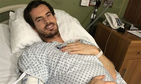 Andy Murray Shares Photo From Hospital Bed Following