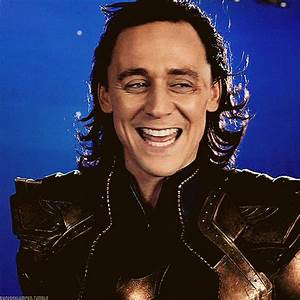 tom hiddleston / loki tom hiddleston smile gif | WiffleGif