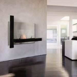 Poele A L Ethanol : cheminee murale brisach chemin e suspendue bois ou ~ Premium-room.com Idées de Décoration