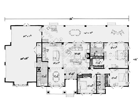 single level home plans one house plans with open floor plans design basics