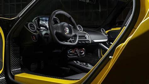 Alfa 4c Interni Alfa Romeo 4c Spider Listino Prezzi 2019 Consumi E