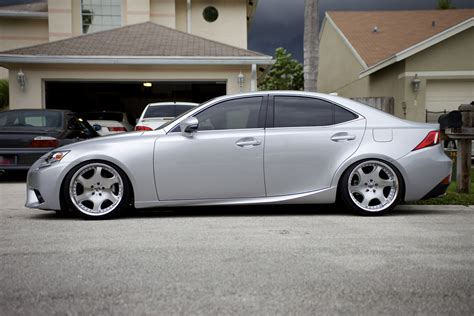 2014 lexus is250 lowered with weds wheels clublexus