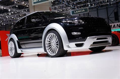 2018 Geneva Motor Show Hamann Range Rover Evoque