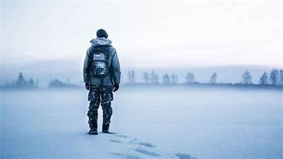 Snow Winter Tourist Backpack 8k 4k Ultra
