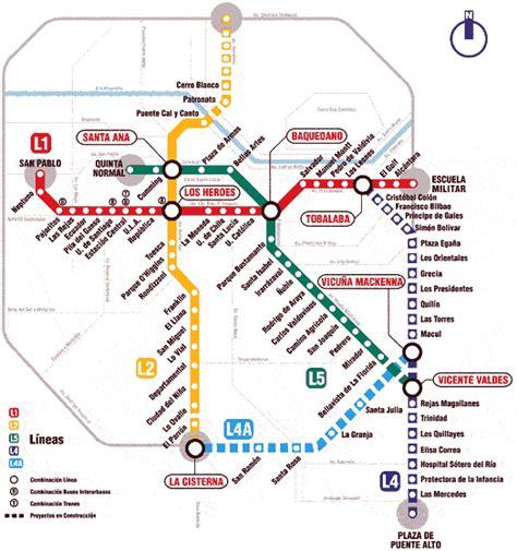 The Metro De Santiago De Chile A Guide For Tourists