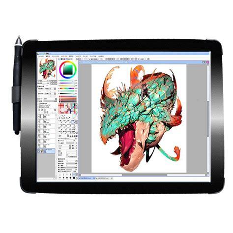 black   digital drawing  display graphic tablet