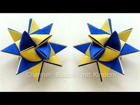 einfache sterne basteln für weihnachten sterne basteln fr 246 belstern basteln weihnachten fr 246 belsterne anleitung origami