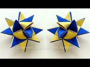 Sterne Weihnachten Basteln : sterne basteln fr belstern basteln weihnachten fr belsterne anleitung origami youtube ~ Eleganceandgraceweddings.com Haus und Dekorationen
