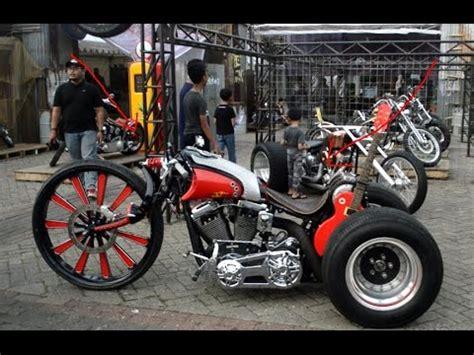 Modif Motor by Modif Motor Aneh Unik Bikin Melongo Di Indonesia 2017