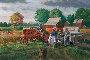 Grandpa's Farm Print