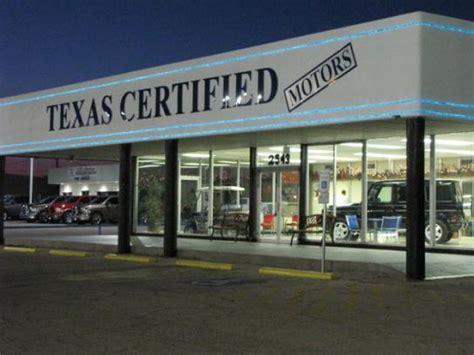 Texas Certified Motors  Odessa, Tx 79761 Car Dealership
