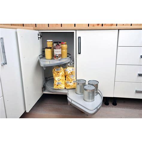 rangement angle cuisine rangement coulissant 2 paniers tirant gauche pour meuble d