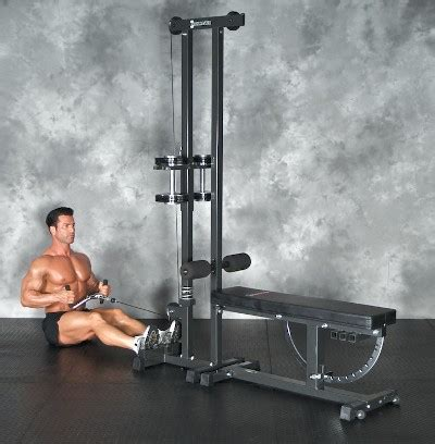 Standing Preacher Curl Bench by Ironmaster Cable Tower Attachment Review