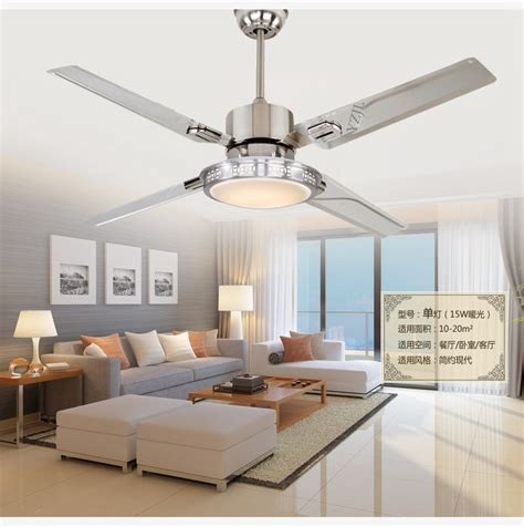 Bedroom Ceiling Fans With Lights by 48inch Remote Ceiling Fan Lights Led Bedroom