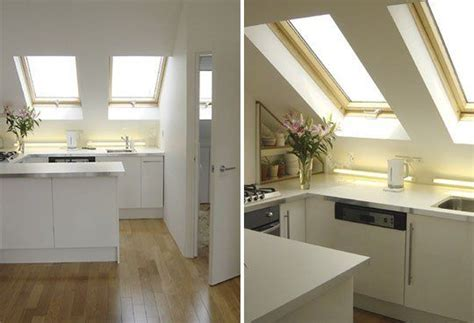 designing a small kitchen small space solutions from an attic apartment attic 6662