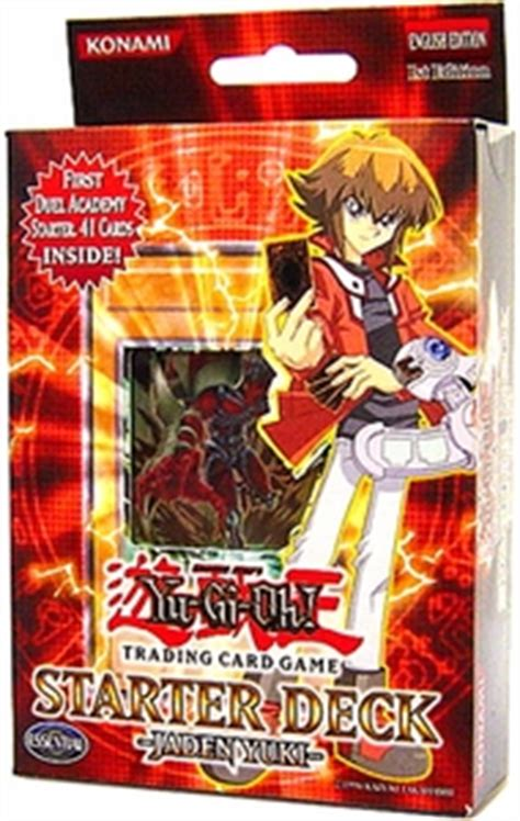 jaden yuki starter deck 3 yugioh gx duelist academy jaden yuki starter deck yugioh