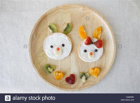hase pancake fruehstueck lustige essen kunst fuer kinder