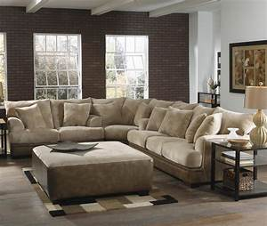 Big Sofa L : barkley large l shaped sectional sofa with left side ~ Pilothousefishingboats.com Haus und Dekorationen