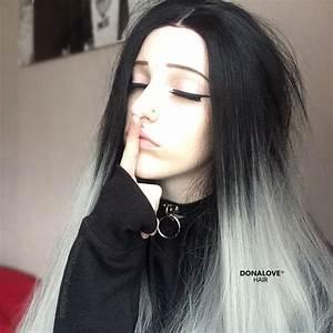 Haarfarbe Schwarz Grau : die besten 25 graue haarfarben ideen auf pinterest haare grau f rben platin blonde ~ Frokenaadalensverden.com Haus und Dekorationen