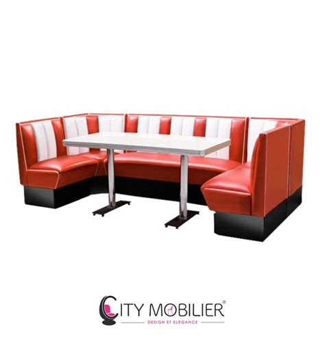 banquette r 233 tro diner california city mobilier