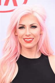 Blonde with Pink Hair Color
