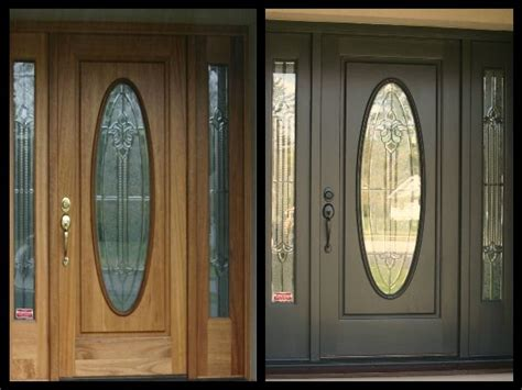 front door gray valspar doors colors earth fired dated painting brown dark paint colored houses painted hardware hair grey exterior