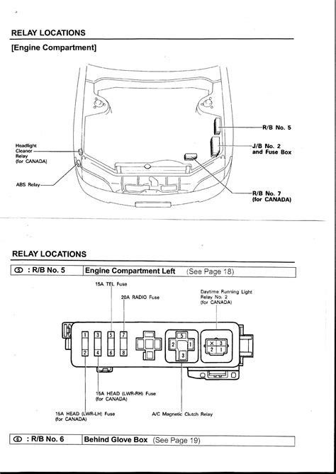 95 Lexu Es300 Fuse Box Diagram by 2es A C Relay In Fusebox Club Lexus Forums