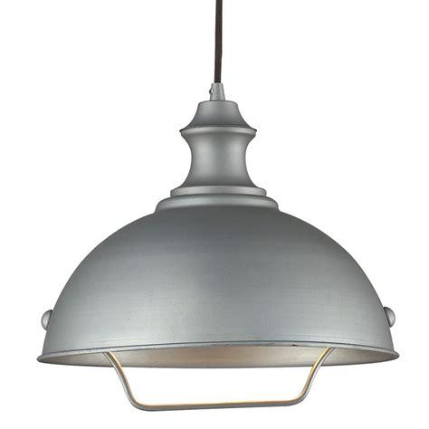 Farmhouse Pulley Pendant Light  Grey Finish  650811