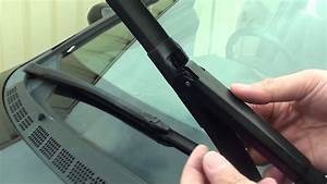 How To Change Windscreen Wiper For Honda Civic