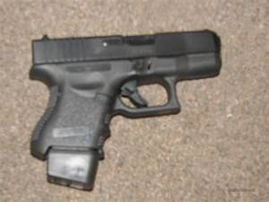 GLOCK 26 9mm w/ EXTENDED MAG
