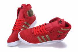 Adidas Shoes High Tops Red  Adidas Shoes High Tops Red