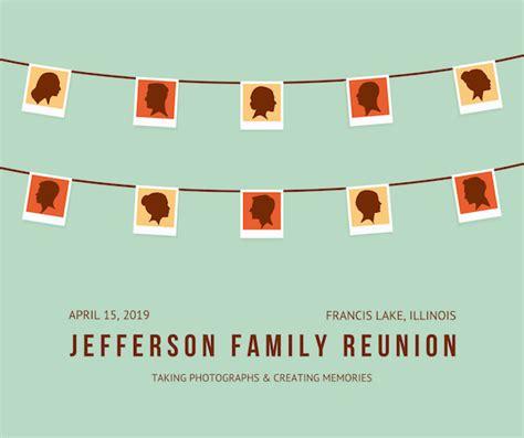 40 family reunion ideas canva