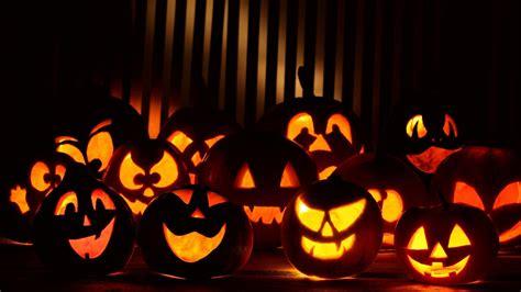 halloween pumpkin backgrounds pixelstalk