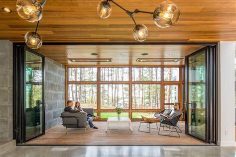 stunning home fuses modern scandinavian design   minnesotan outdoors