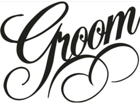 You can download in.ai,.eps,.cdr,.svg,.png formats. Image result for Bride Groom font | Silhouette vinyl ...
