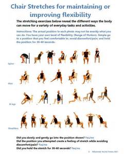 25 best ideas about chair yoga on pinterest office yoga